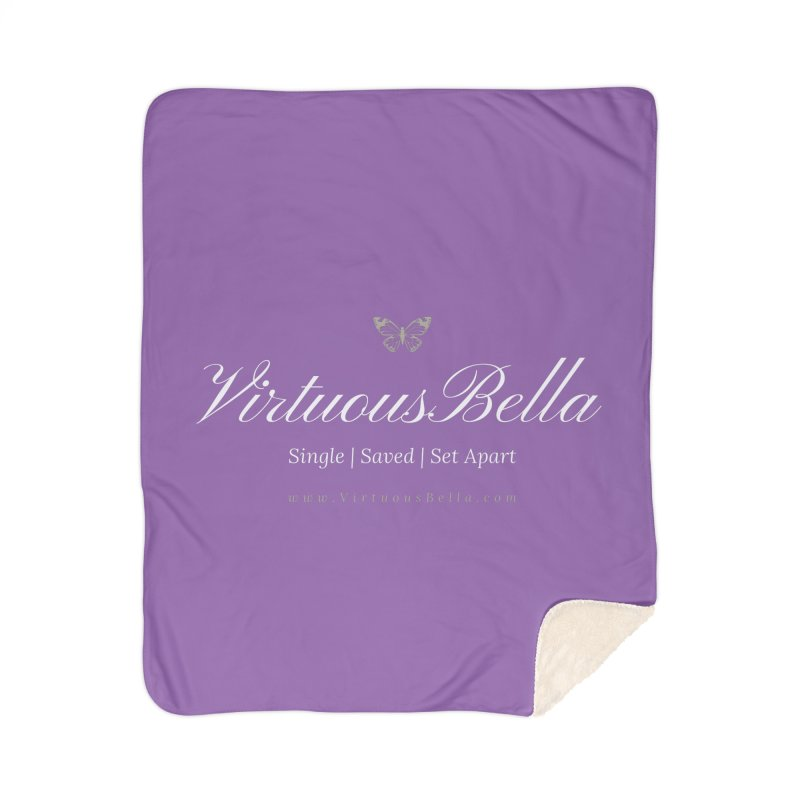 VirtuousBella Home Sherpa Blanket Blanket by Living Virtuous Boutique