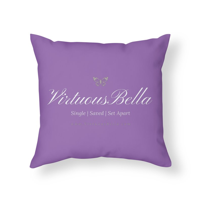 VirtuousBella Home Throw Pillow by Living Virtuous Boutique