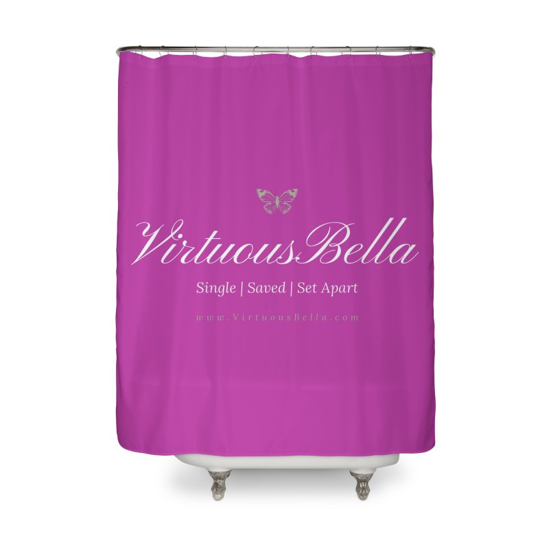 VirtuousBella Butterfly Home Shower Curtain by Living Virtuous Boutique