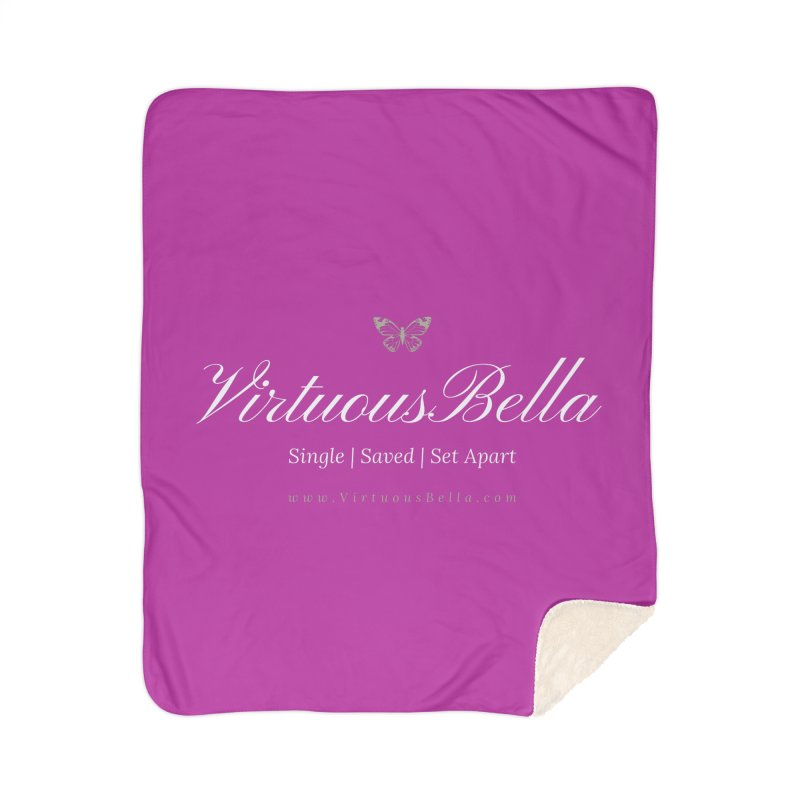 VirtuousBella Butterfly Home Sherpa Blanket Blanket by Living Virtuous Boutique