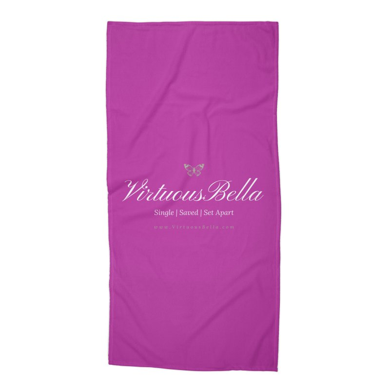 VirtuousBella Butterfly Accessories Beach Towel by Living Virtuous Boutique