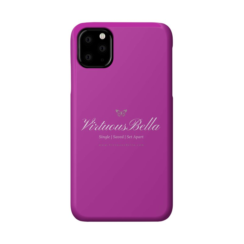 VirtuousBella Butterfly Accessories Phone Case by Living Virtuous Boutique