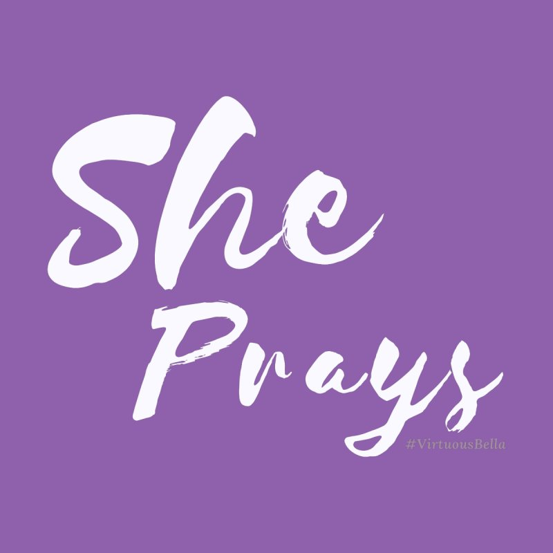 She Prays Home Blanket by Living Virtuous Boutique