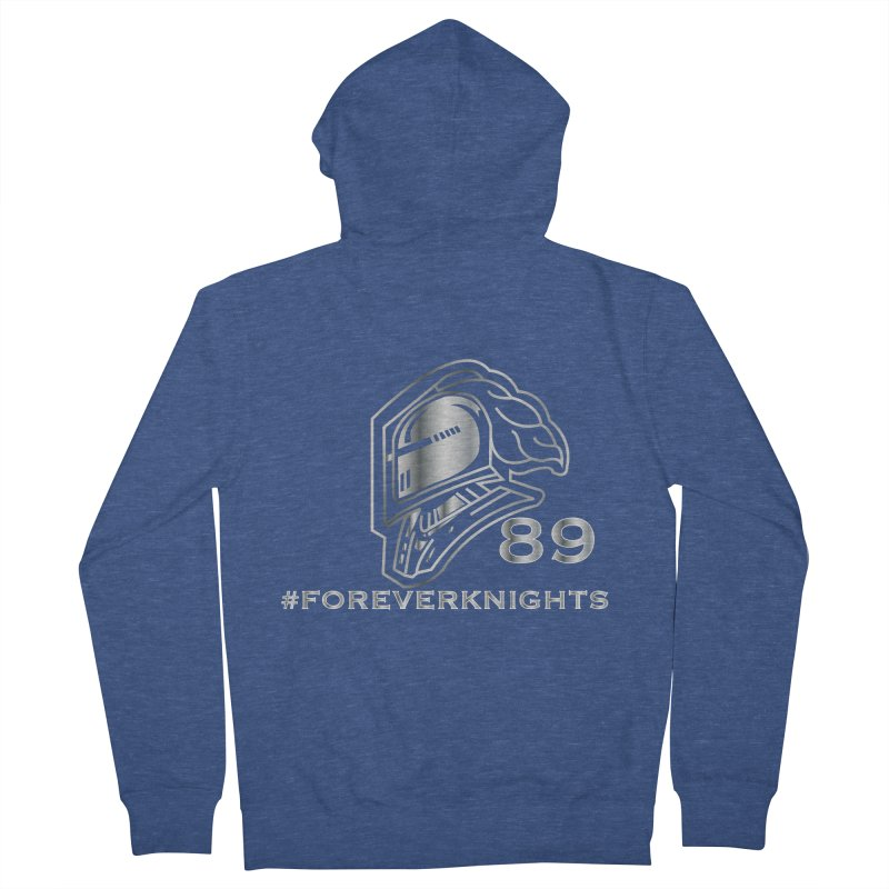 FOREVER89KNIGHTS Men's Zip-Up Hoody by VisualEFX Gear