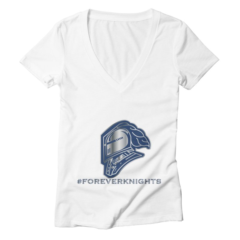ALL_KNIGHTSFOREVER Women's V-Neck by VisualEFX Gear