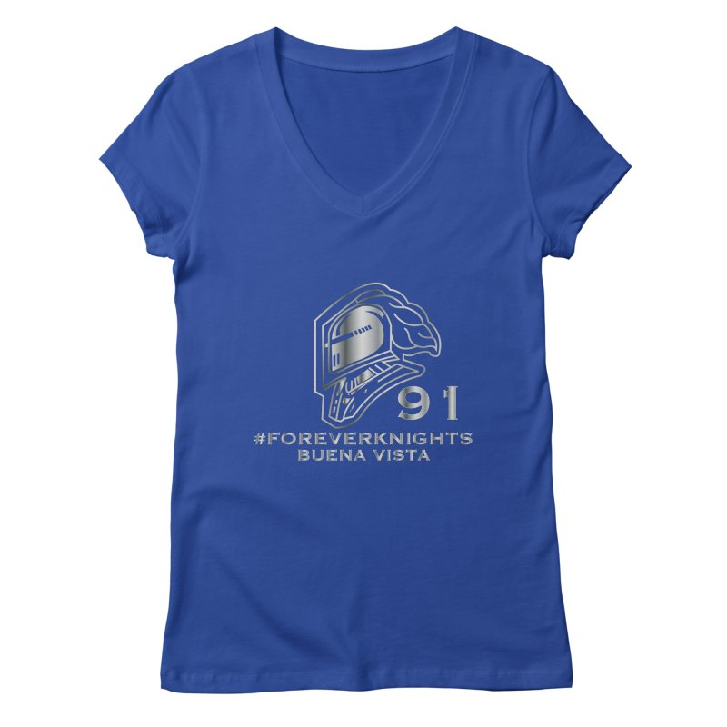 BVKnights_Forever1991 Women's V-Neck by VisualEFX Gear