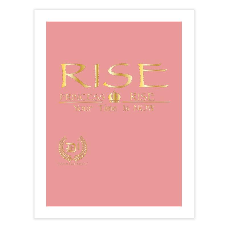 Rise Princess Rise Home Fine Art Print by VisualEFX Gear
