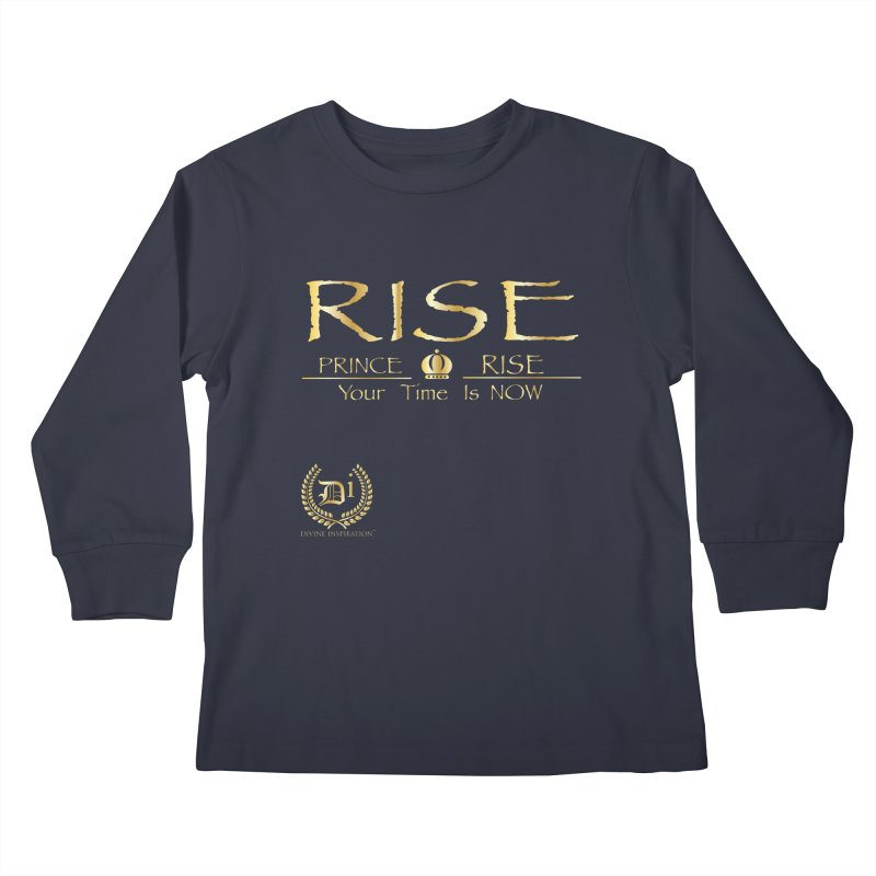 RisePrinceRISE Kids Longsleeve T-Shirt by VisualEFX Gear