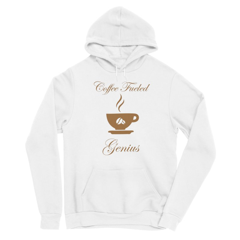 Coffee Fueled Genius Men's Pullover Hoody by VisualEFX Gear
