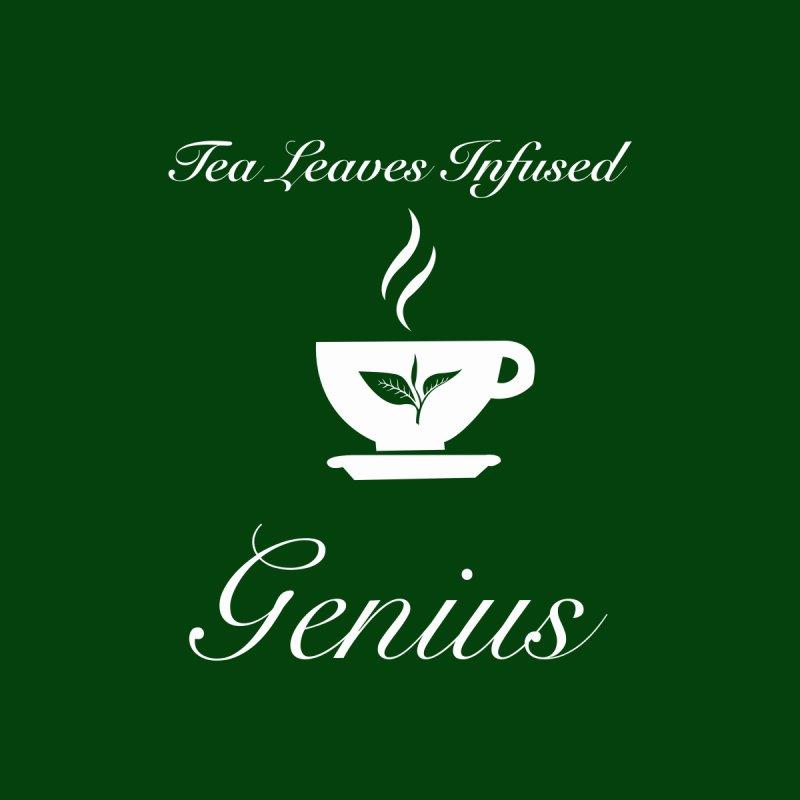 Tea Leaves Infused Genius Men's T-Shirt by VisualEFX Gear