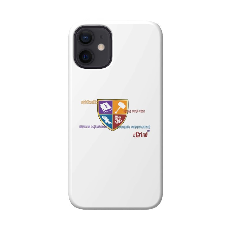 GRIND....the Brand Accessories Phone Case by VisualEFX Gear