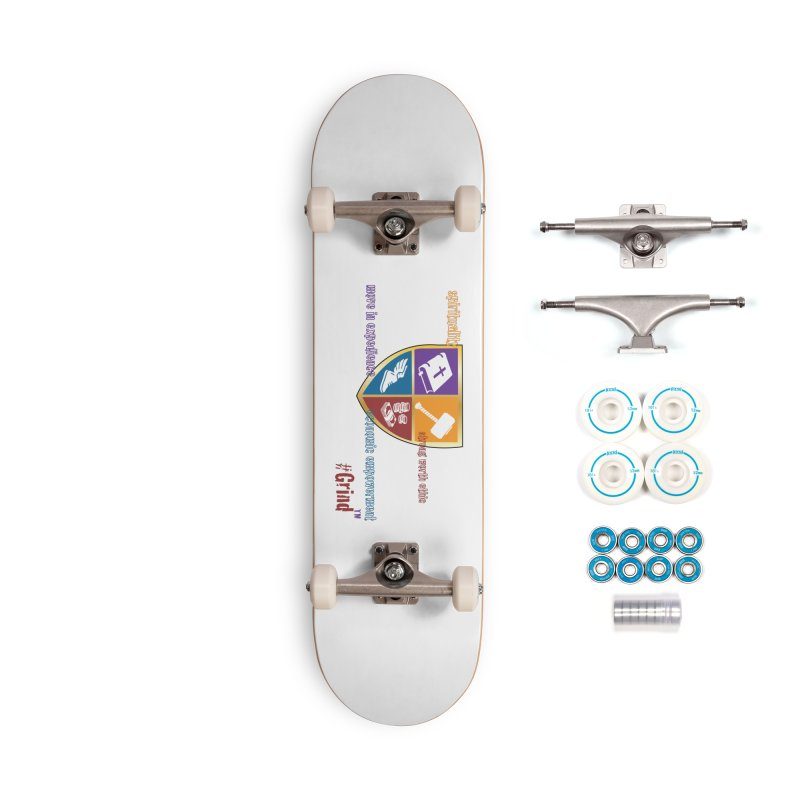 GRIND....the Brand Accessories Skateboard by VisualEFX Gear