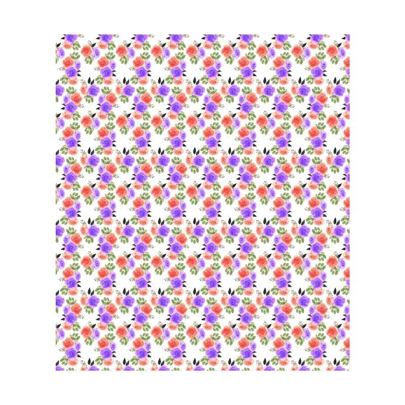 Red Purple Floral Pattern Men's T-Shirt by VisudylicCreations's Artist Shop