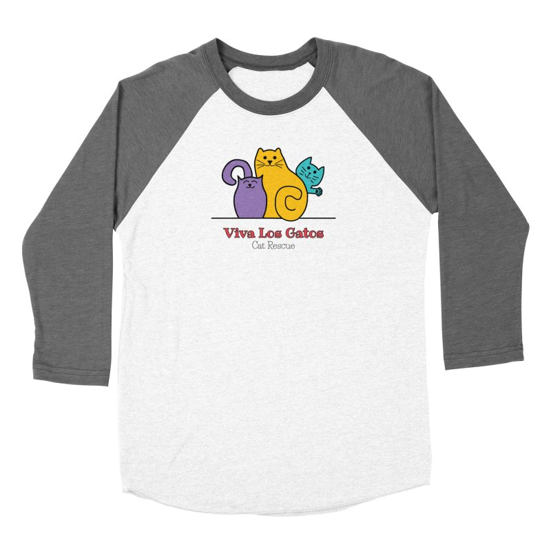 Gatos Light Women's Longsleeve T-Shirt by Viva Los Gatos Cat Rescue's Shop
