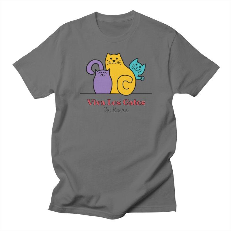 Gatos Light Men's T-Shirt by Viva Los Gatos Cat Rescue's Shop