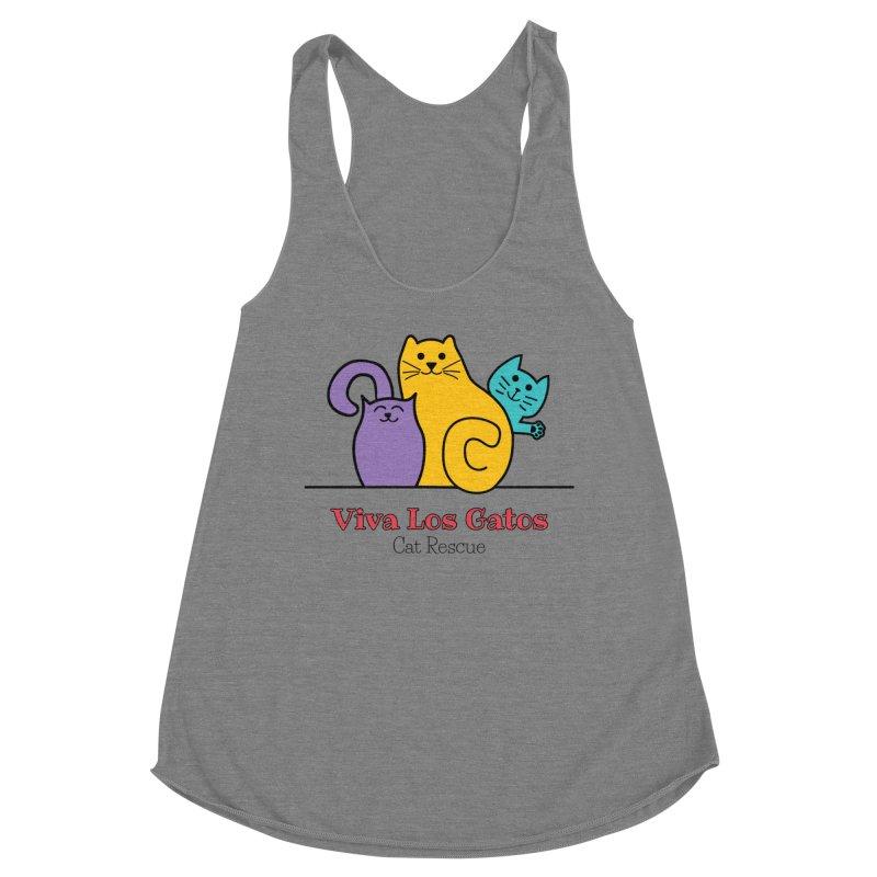Gatos Light Women's Tank by Viva Los Gatos Cat Rescue's Shop