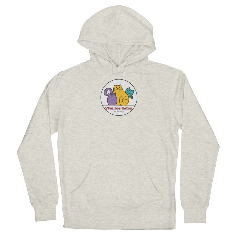 Gatos Circle Women's French Terry Pullover Hoody by Viva Los Gatos Cat Rescue's Shop