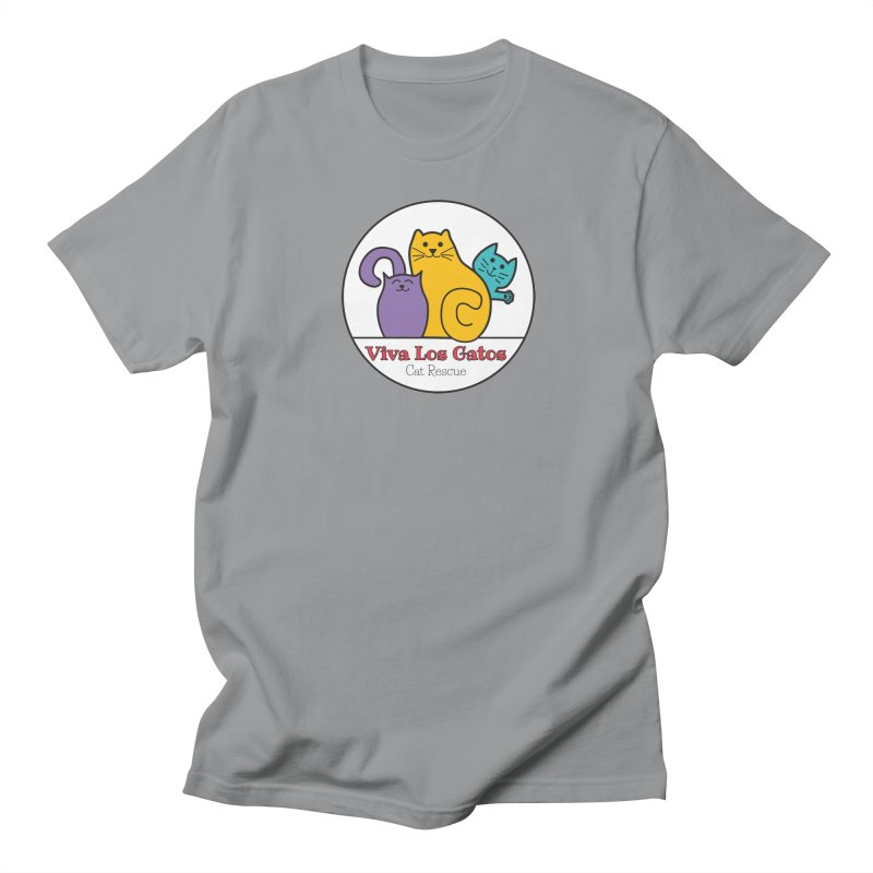 Gatos Circle Women's Regular Unisex T-Shirt by Viva Los Gatos Cat Rescue's Shop