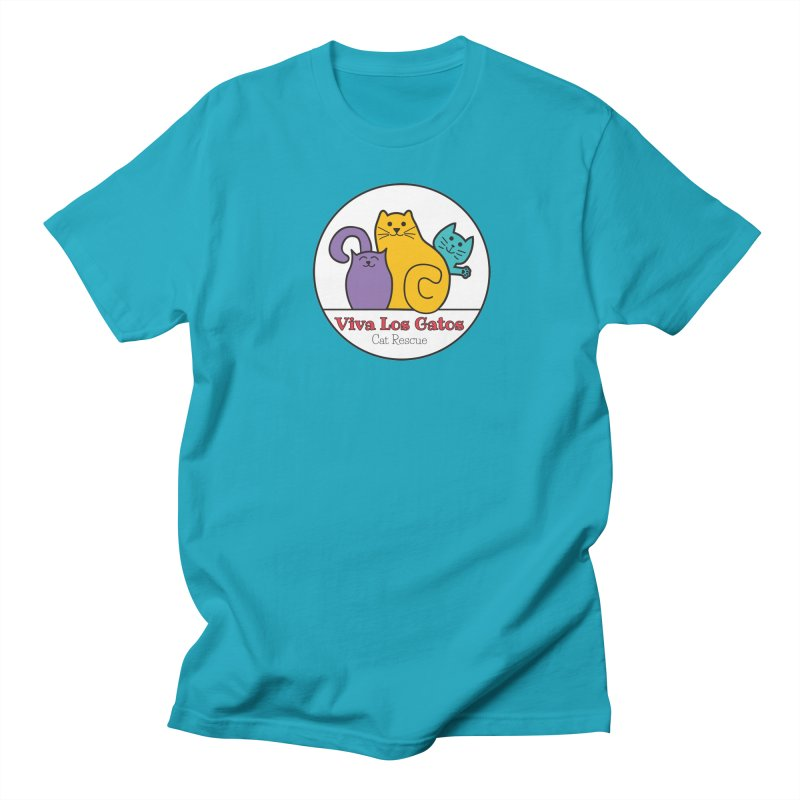 Gatos Circle Women's T-Shirt by Viva Los Gatos Cat Rescue's Shop