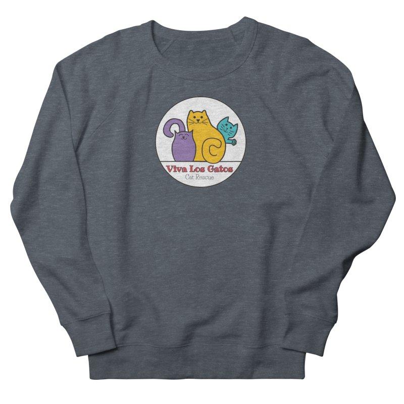 Gatos Circle Women's Sweatshirt by Viva Los Gatos Cat Rescue's Shop