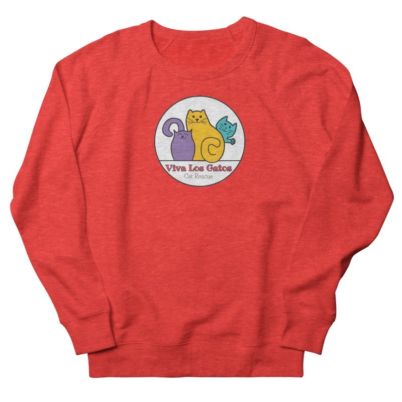 Gatos Circle Women's Sweatshirt by Viva Los Gatos Cat Rescue's Shop