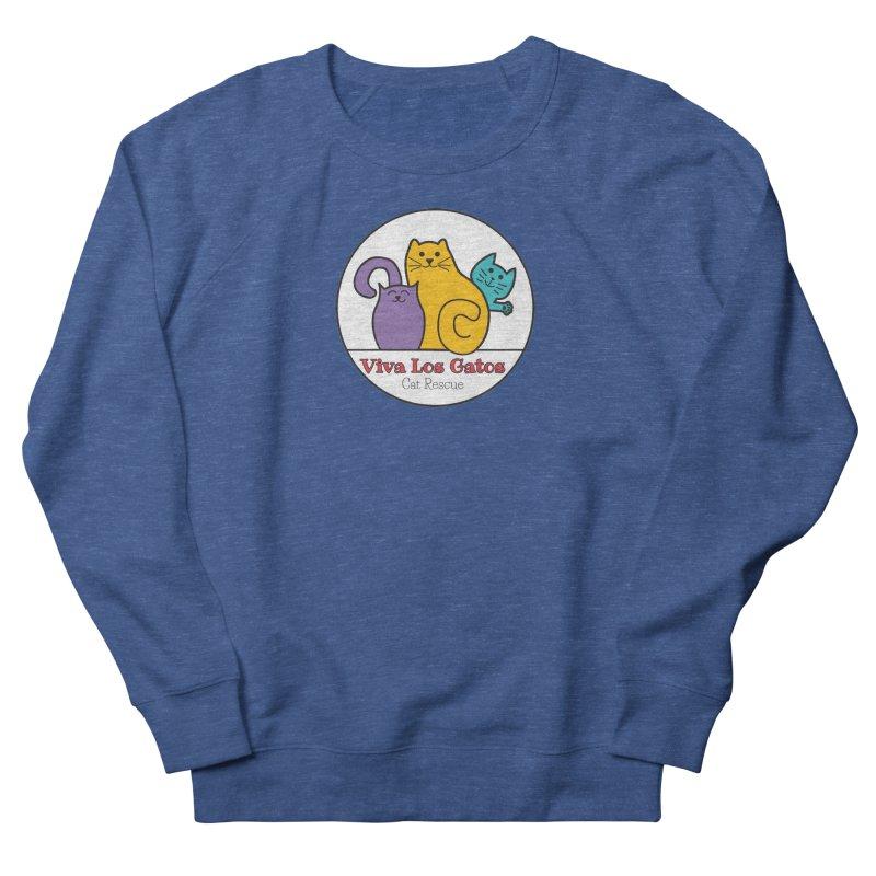 Gatos Circle Men's Sweatshirt by Viva Los Gatos Cat Rescue's Shop
