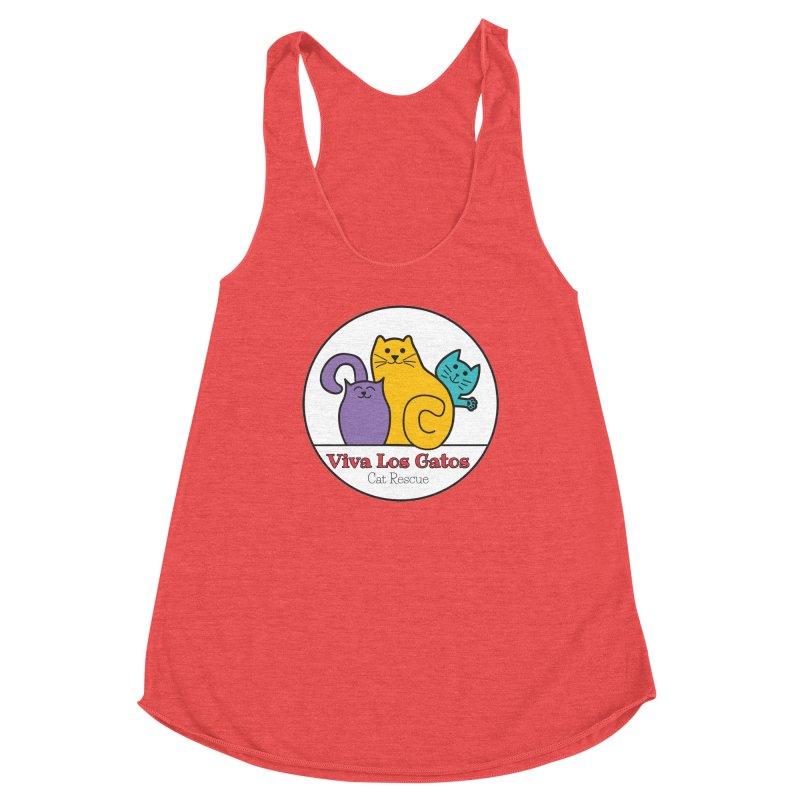 Gatos Circle Women's Tank by Viva Los Gatos Cat Rescue's Shop