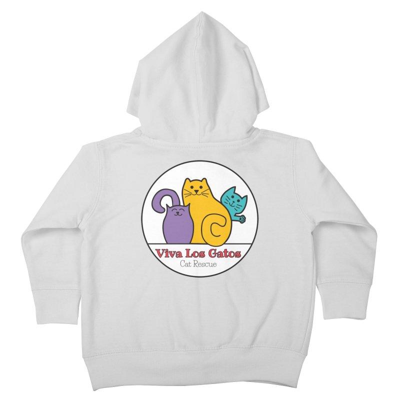 Gatos Circle Kids Toddler Zip-Up Hoody by Viva Los Gatos Cat Rescue's Shop