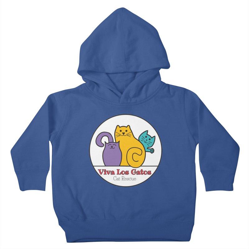 Gatos Circle Kids Toddler Pullover Hoody by Viva Los Gatos Cat Rescue's Shop