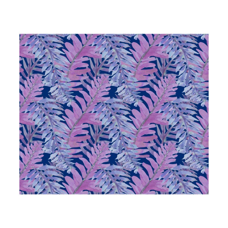Woodland Ferns in Blue by Vivaeris Designs' Artist Shop