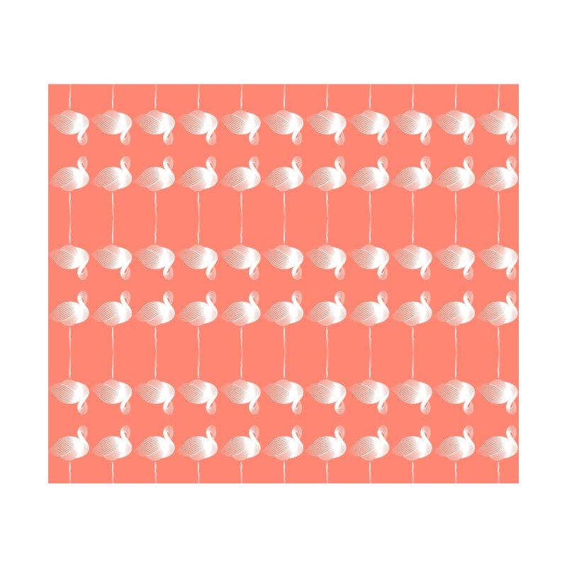 Meditating Flamingos by Vivaeris Designs' Artist Shop
