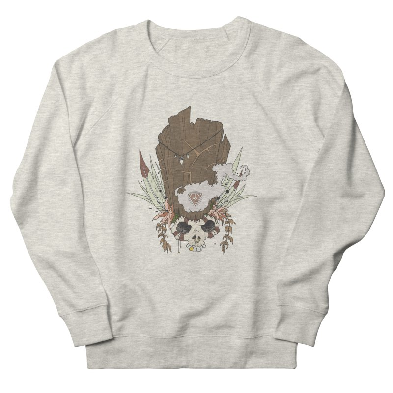 Voodoo in Men's French Terry Sweatshirt Heather Oatmeal by VonCricket