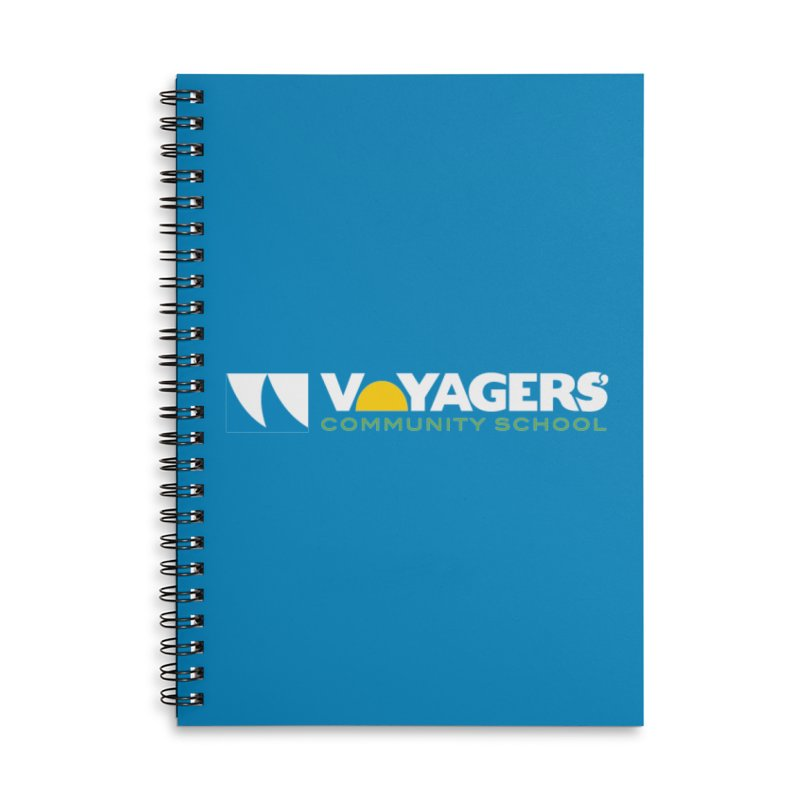 Voyagers in Lined Spiral Notebook by VoyagersCommunitySchool