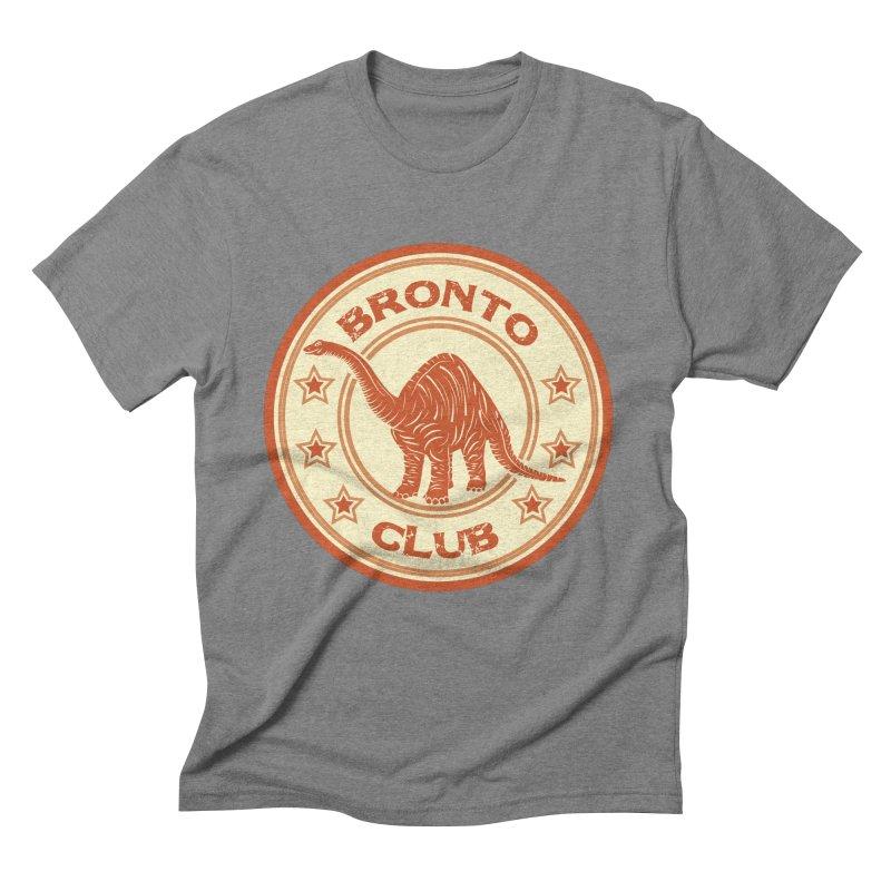 BRONTO Men's Triblend T-shirt by WALLYF's Artist Shop