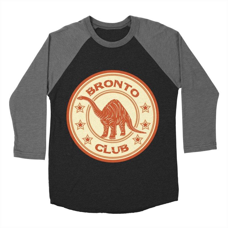 BRONTO Men's Baseball Triblend T-Shirt by WALLYF's Artist Shop