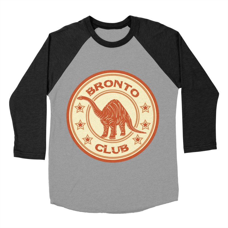 BRONTO Men's Baseball Triblend T-Shirt by WALLYF's Artist Shop