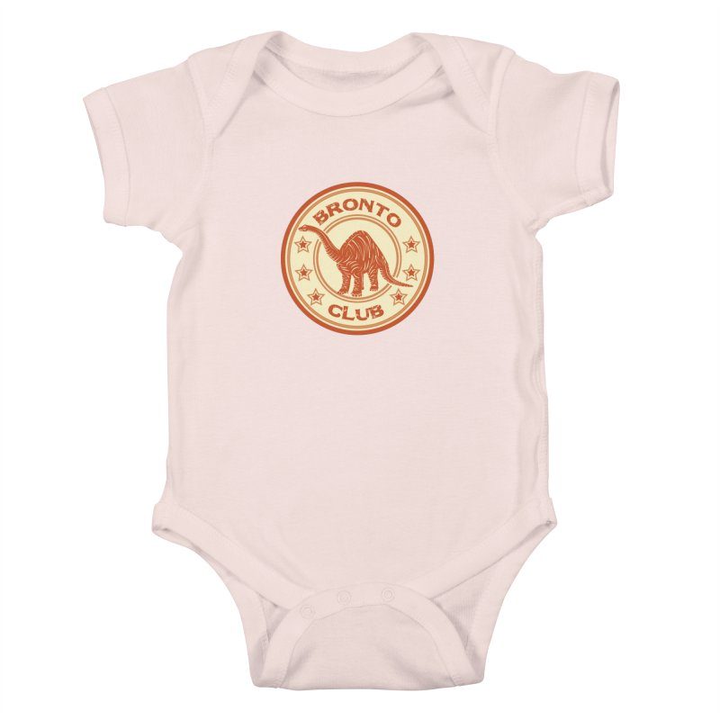 BRONTO Kids Baby Bodysuit by WALLYF's Artist Shop