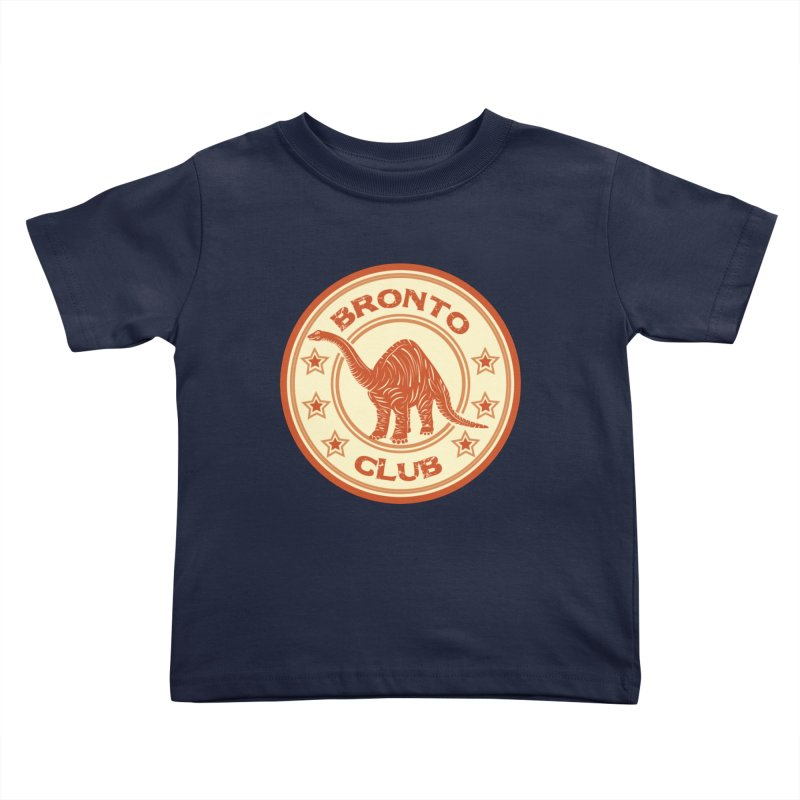 BRONTO Kids Toddler T-Shirt by WALLYF's Artist Shop