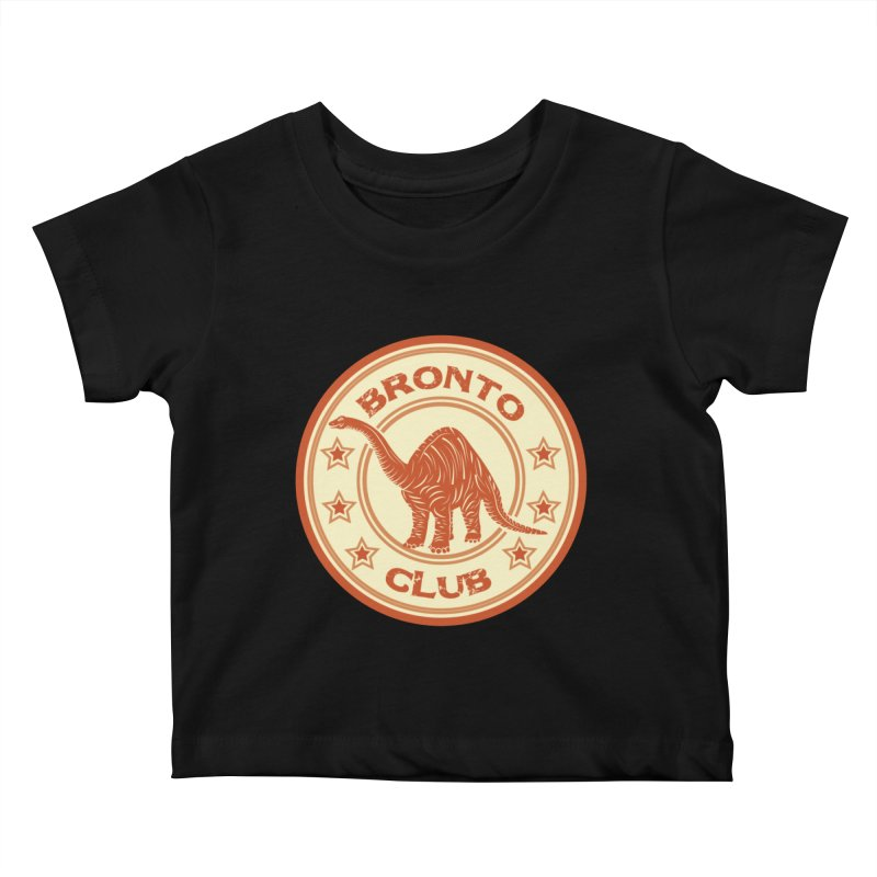 BRONTO Kids Baby T-Shirt by WALLYF's Artist Shop