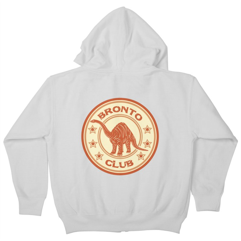BRONTO Kids Zip-Up Hoody by WALLYF's Artist Shop