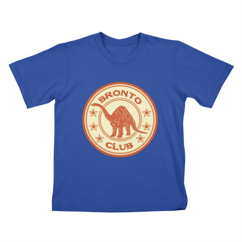 BRONTO Kids T-Shirt by WALLYF's Artist Shop