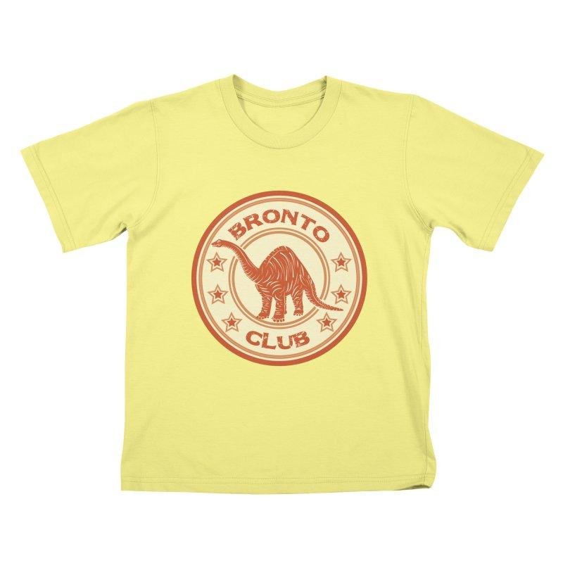 BRONTO Kids T-shirt by WALLYF's Artist Shop