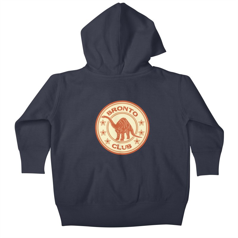 BRONTO Kids Baby Zip-Up Hoody by WALLYF's Artist Shop