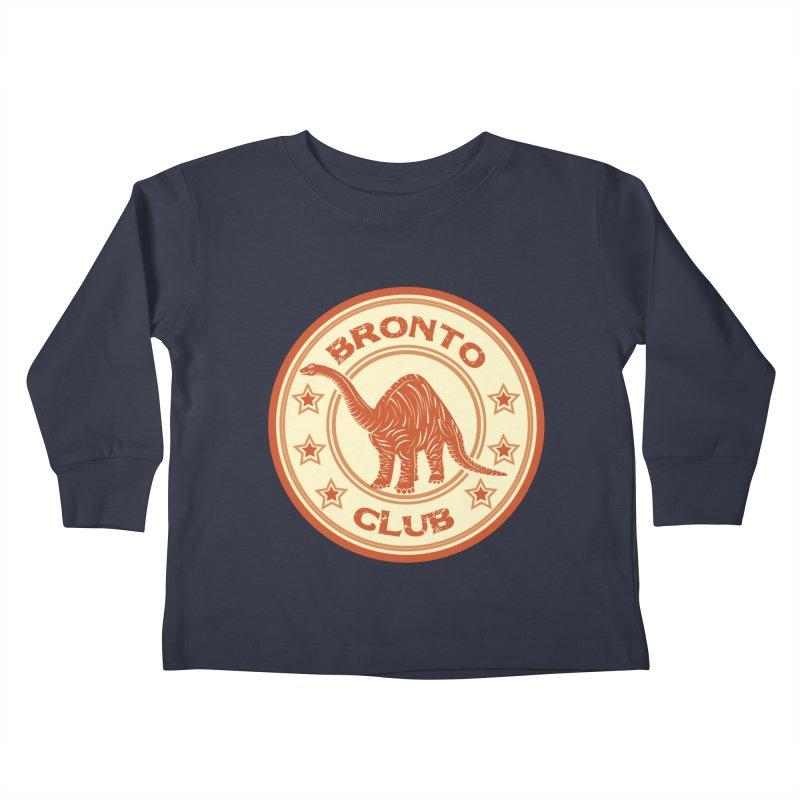 BRONTO Kids Toddler Longsleeve T-Shirt by WALLYF's Artist Shop