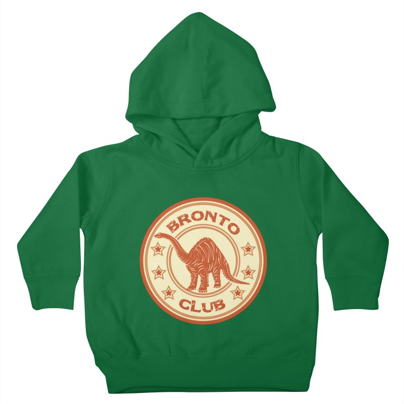 BRONTO Kids Toddler Pullover Hoody by WALLYF's Artist Shop