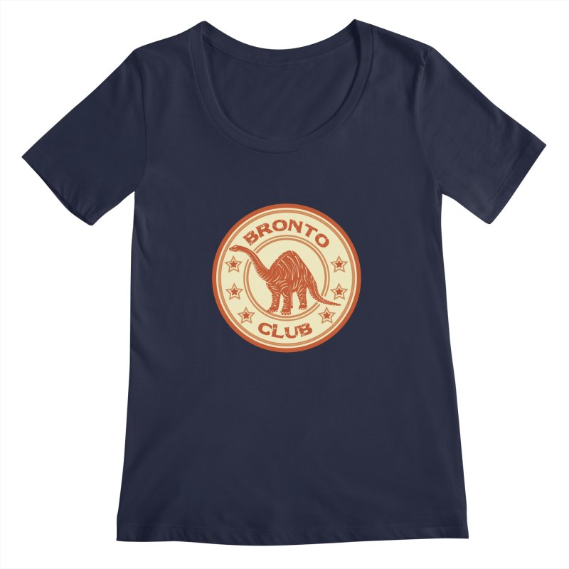 BRONTO Women's Scoopneck by WALLYF's Artist Shop