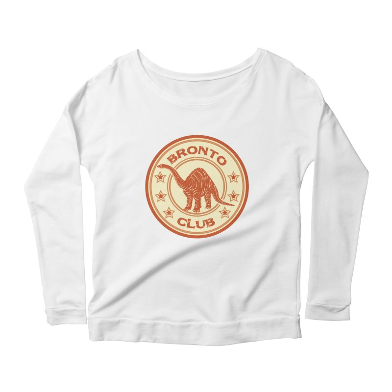 BRONTO Women's Longsleeve Scoopneck  by WALLYF's Artist Shop