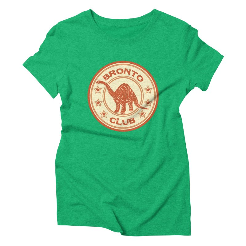 BRONTO Women's Triblend T-Shirt by WALLYF's Artist Shop