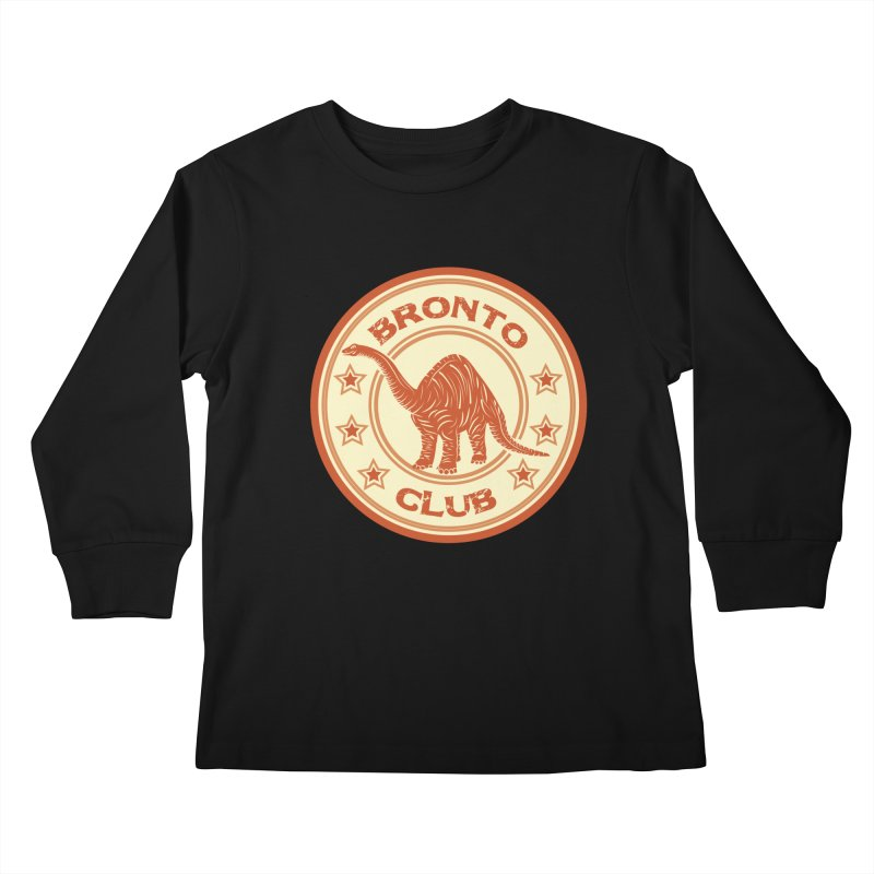 BRONTO Kids Longsleeve T-Shirt by WALLYF's Artist Shop