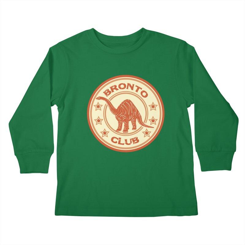BRONTO Kids Longsleeve T-Shirt by WALLYF's Artist Shop